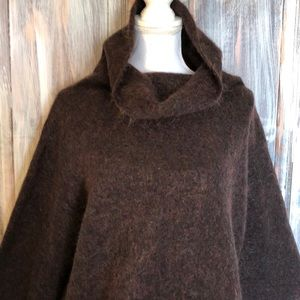 Eileen Fisher oversized mohair pullover sweater